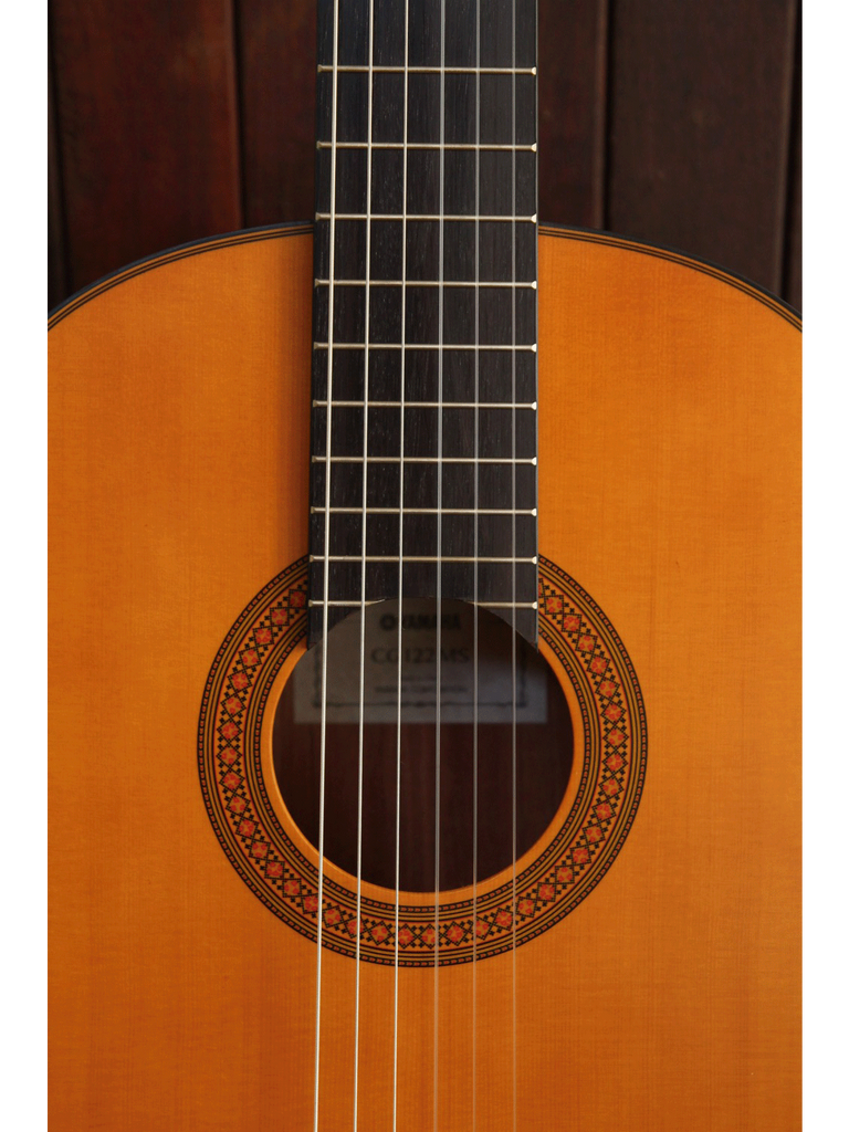 Yamaha CG122MS Solid Top Nylon String Guitar - The Rock Inn - 5