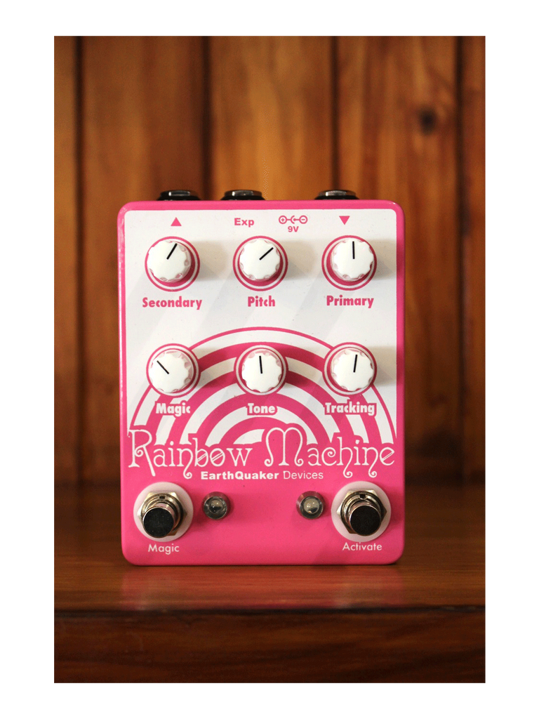 Earthquaker Devices Rainbow Machine – Polyphonic Pitch Shifting Pedal - The Rock Inn