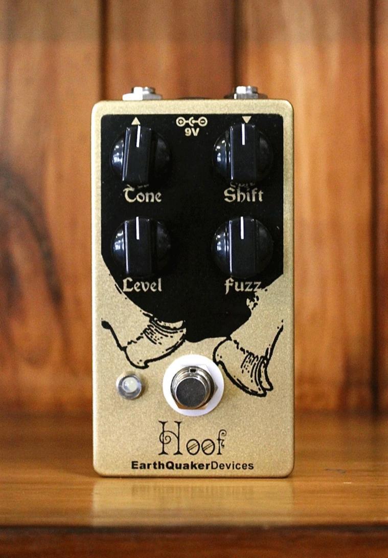 Earthquaker Devices Hoof Fuzz Pedal - The Rock Inn