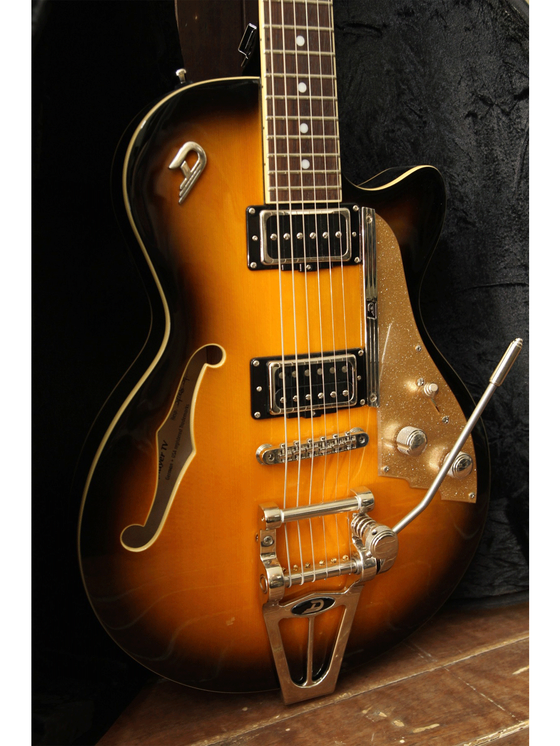Duesenberg Starplayer TV Sunburst Semi-Hollow Electric Guitar - The Rock Inn - 7