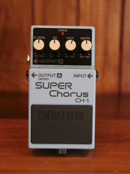 Boss CH-1 Super Chorus Pedal - The Rock Inn