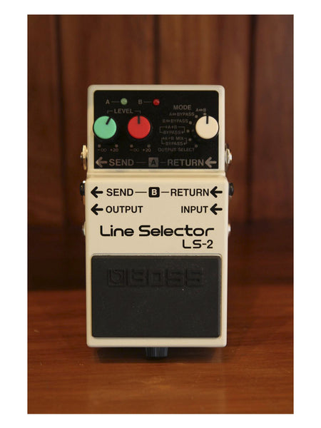 Boss LS-2 Line Selector - The Rock Inn