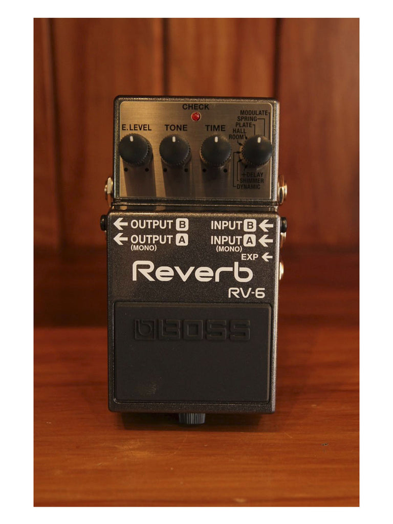 Boss RV-6 Reverb Pedal - The Rock Inn