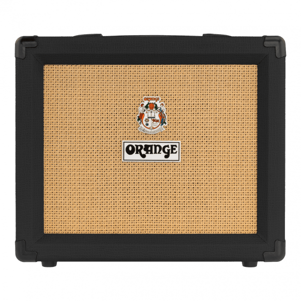 Orange Amplifiers Crush 20RT Reverb Tuner Black 20W 1x8 Guitar Combo Amp