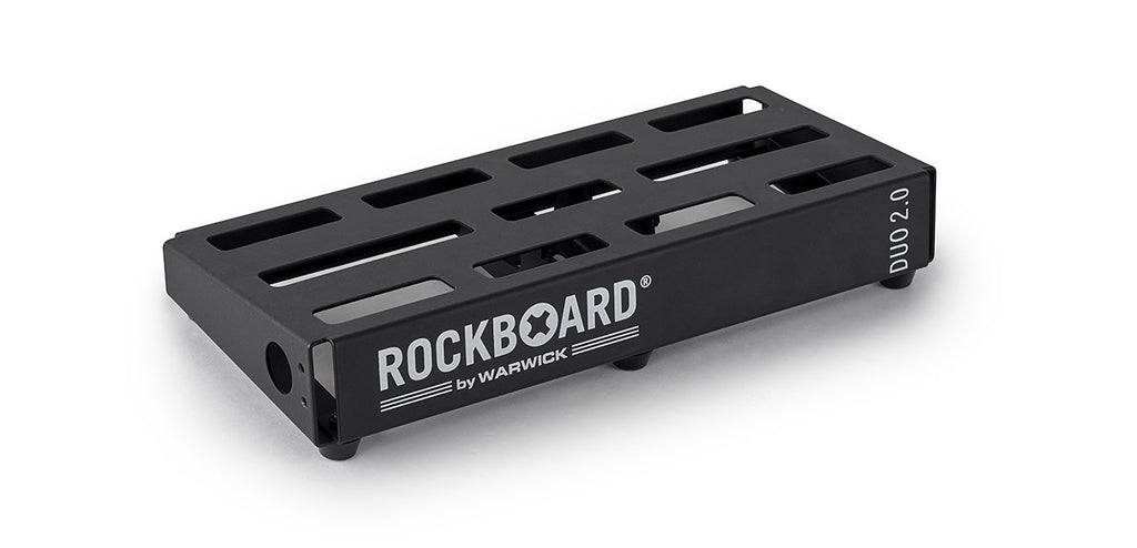 Warwick RockBoard DUO 2.0 Pedalboard with Gig Bag