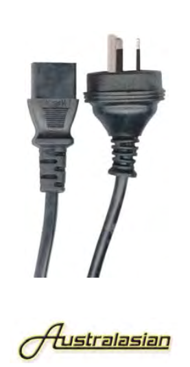 AC Amplifier Power Cable - Heavy Duty Kettle Cord - The Rock Inn