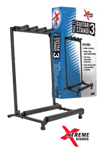 AMS 3-Space Guitar Rack Stand - The Rock Inn
