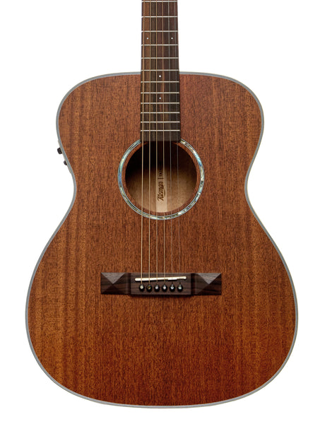Tasman TA150O-E  Mahogany Acoustic-Electric Guitar with Case