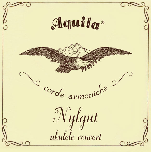 Aquila 7U Nylgut Concert Regular Tuning Ukulele Strings