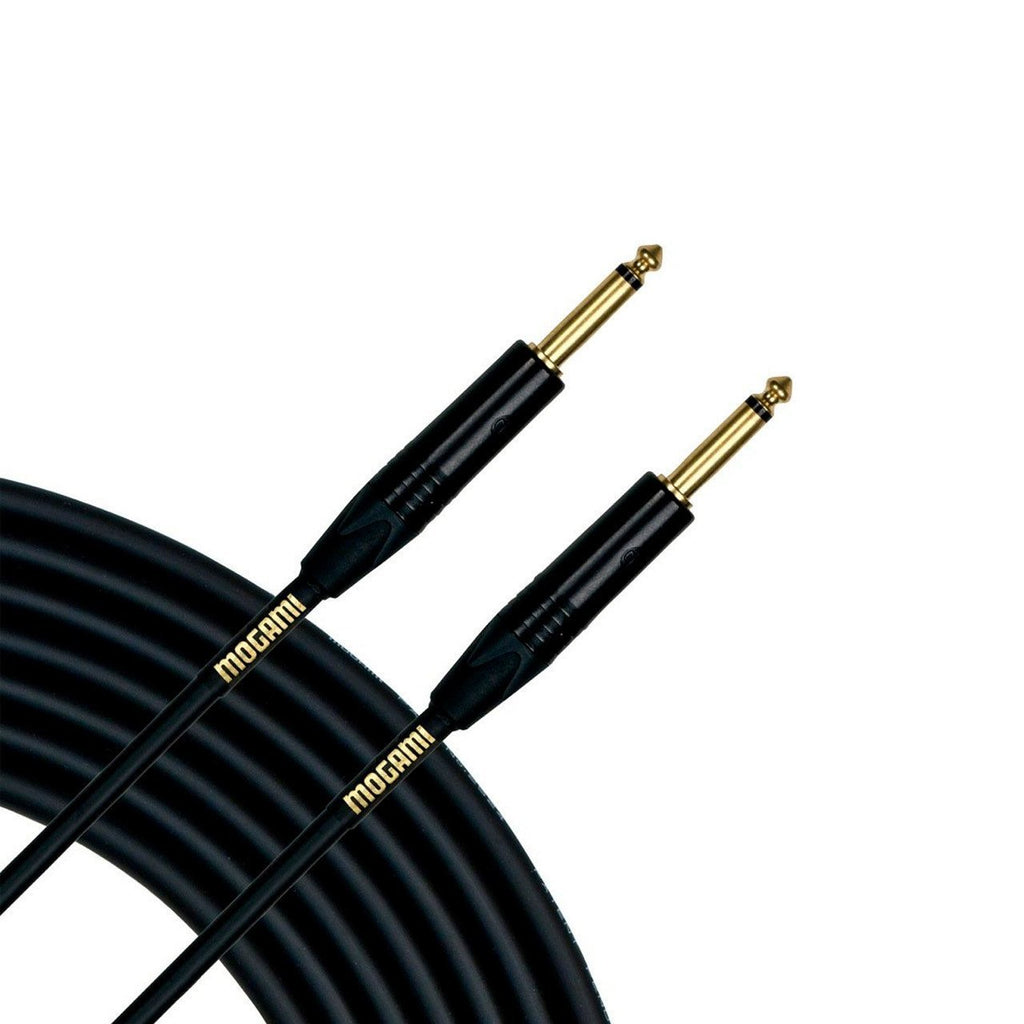 Mogami Gold 10ft Instrument Cable Straight-Straight