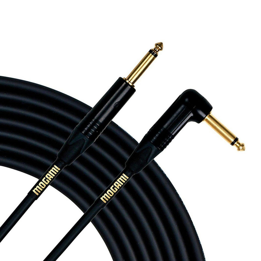 Mogami Gold 18ft Instrument Cable Straight-Right