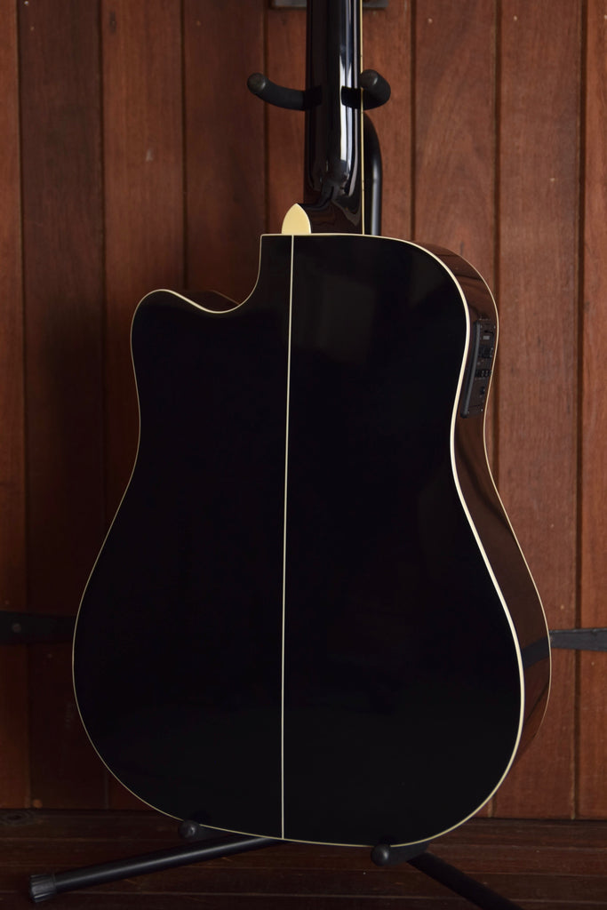 Cort MR710F Solid Top Acoustic-Electric Guitar Black