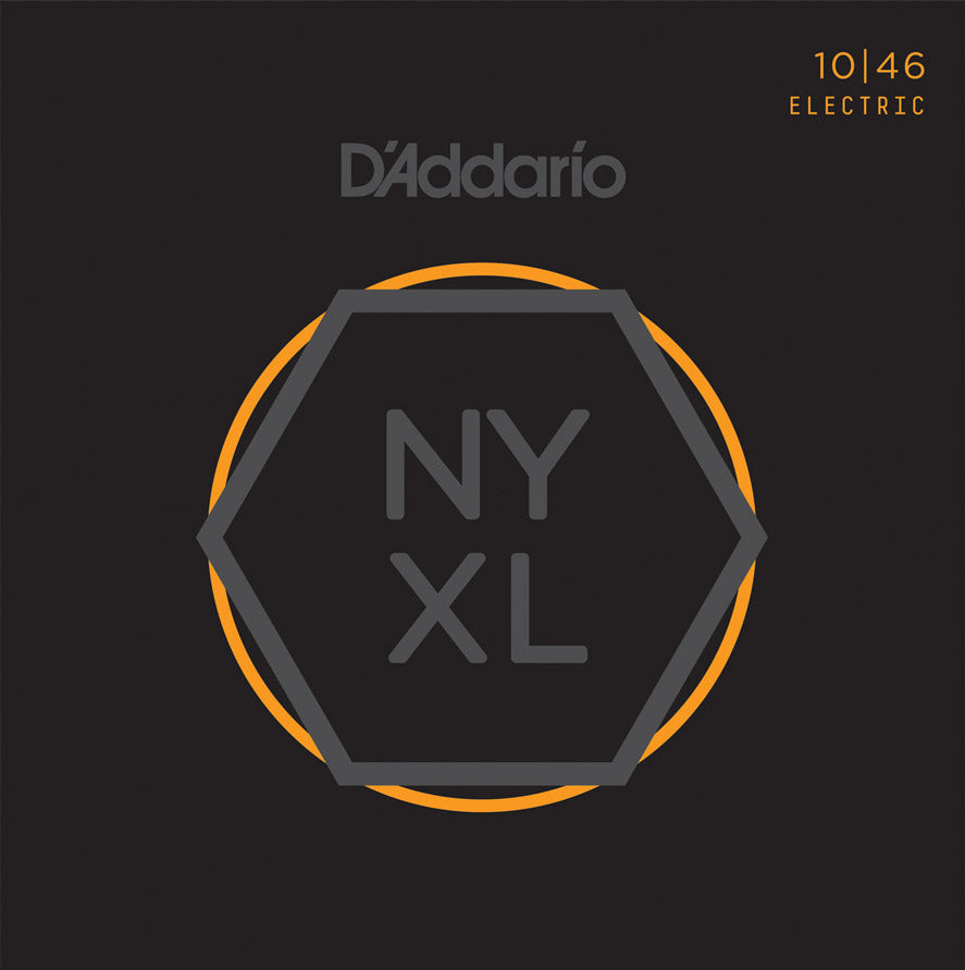D'Addario NYXL 10-46 Electric Guitar Strings NYXL1046 Light