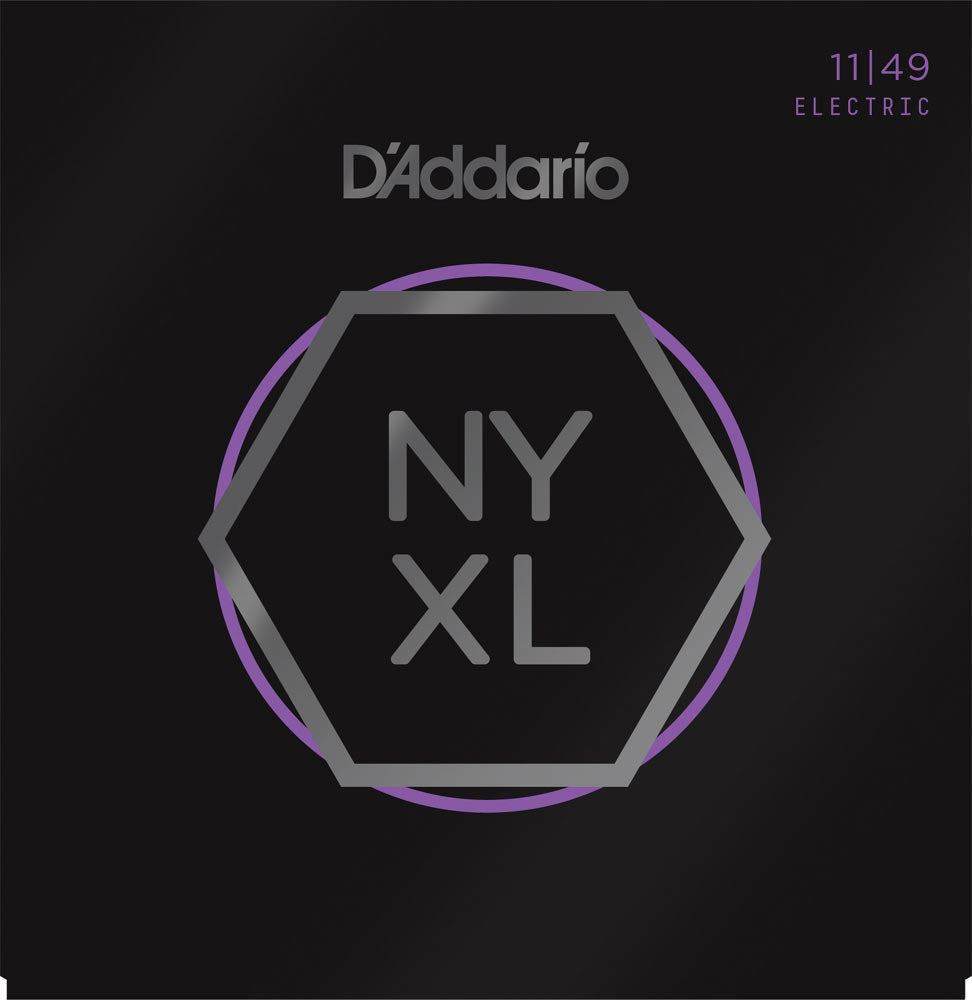 D'Addario NYXL 11-49 Electric Guitar Strings NYXL1149 Medium