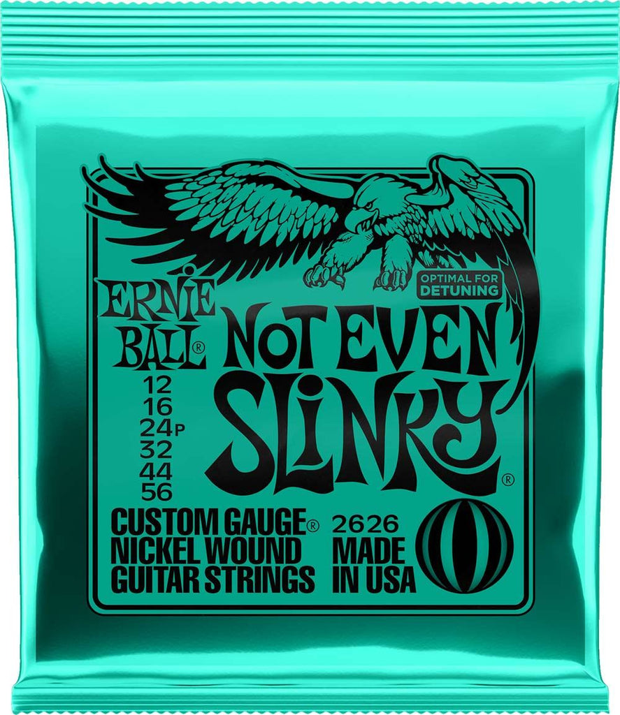 Ernie Ball 12-56 Nickel Not Even Slinky Electric Guitar Strings 2626