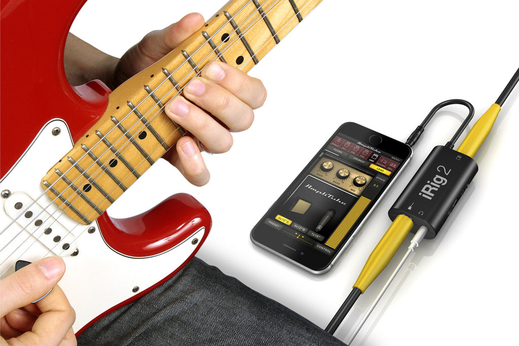 IK Multimedia iRig 2 iOS Guitar Interface for Mac / iPhone - The Rock Inn