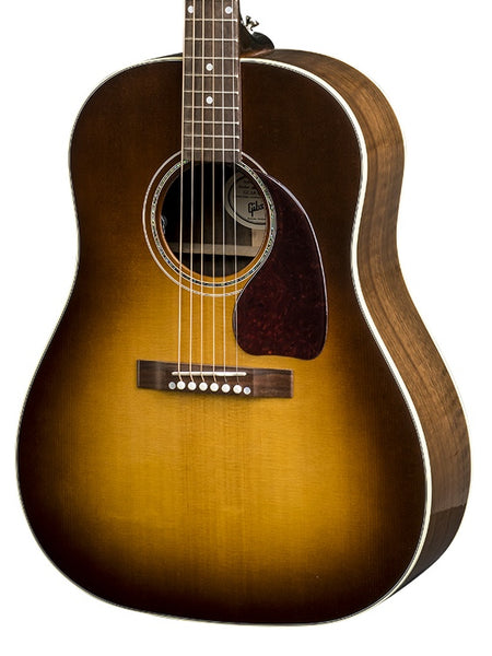 Gibson J-15 Walnut Burst Acoustic-Electric Guitar 2018