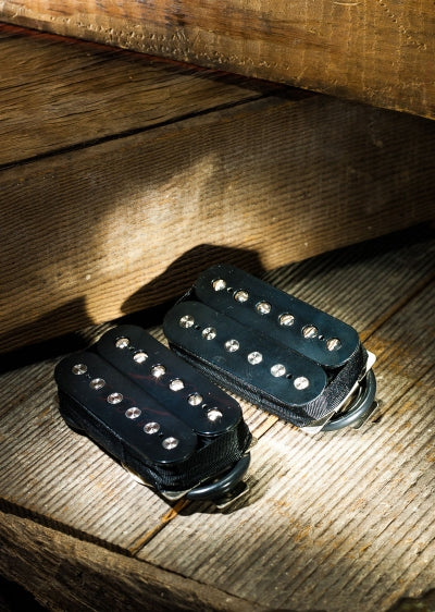 Lollar Pickups Imperial Humbucker Pickup Black - Bridge (no cover)