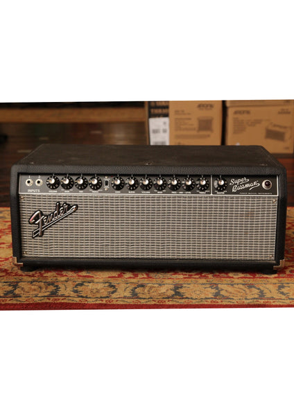 Fender Super Bassman 300w Valve Bass Amp Head Pre-Owned