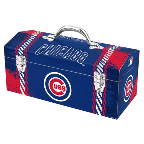 "MLB - Chicago Cubs Tool Box 16.3"" x 7.2"" x 7.5"" - Cubs Primary Logo & Wordmark"