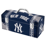 "MLB - New York Yankees Tool Box 16.3"" x 7.2"" x 7.5"" - ""NY"" Logo & Wordmark"