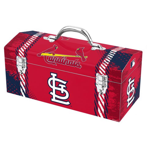 "MLB - St. Louis Cardinals Tool Box 16.3"" x 7.2"" x 7.5"" - Primary Logo and Wordmark"