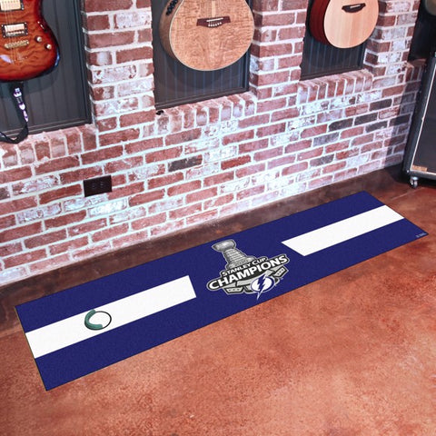 2020 Tampa Bay Lightning Stanley Cup Champion Putting Green Mat
