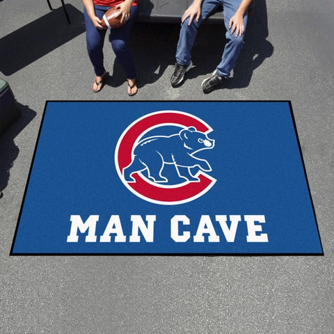 "Chicago Cubs Man Cave Ultimat - 59.5""x94.5"""