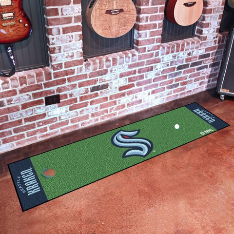"Seattle Kraken Putting Green Mat - 18""x72"""