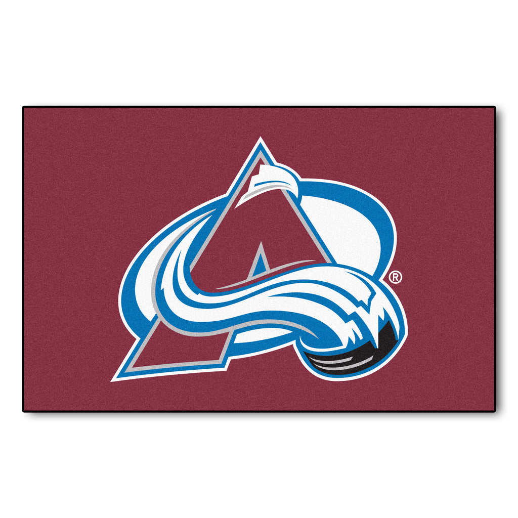 "NHL - Colorado Avalanche Starter Mat 19""x30"""