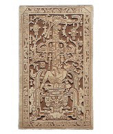 Maya King Pacal Relief from the Sarcophagus Lid