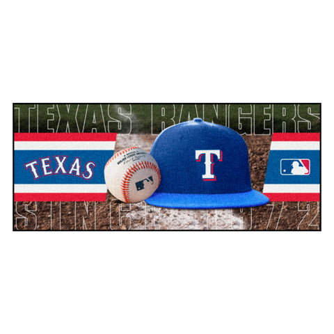"MLB - Texas Rangers Baseball Runner 30""x72"""