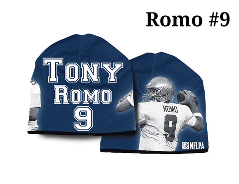 Dallas Cowboys Beanie Lightweight Tony Romo Design