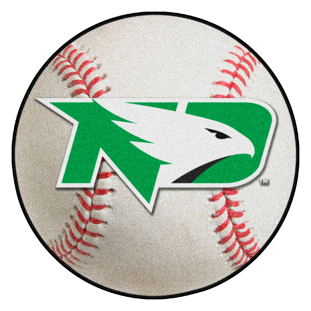 "University of North Dakota Baseball Mat 27"" diameter"""