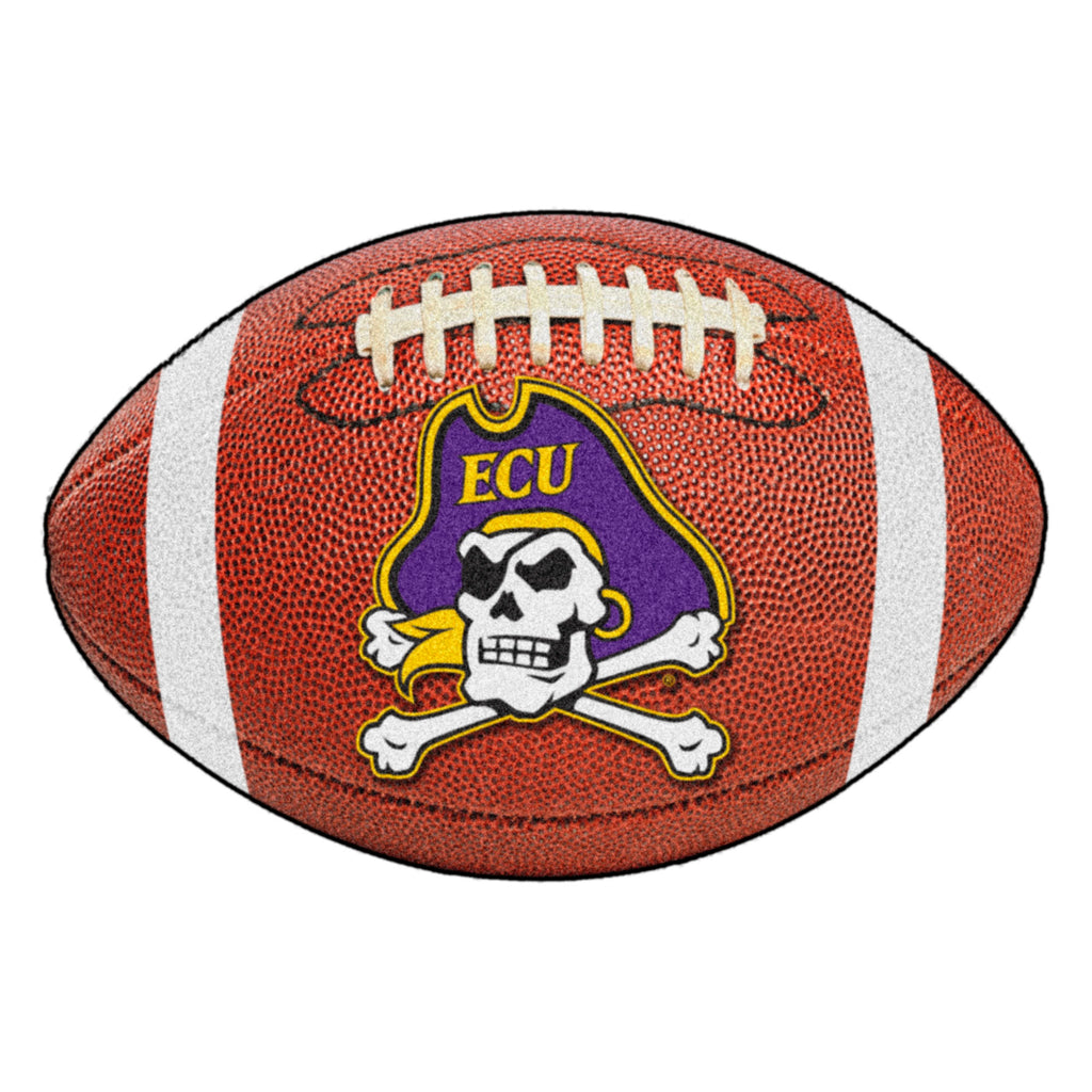 "East Carolina University Football Mat 20.5""x32.5"""