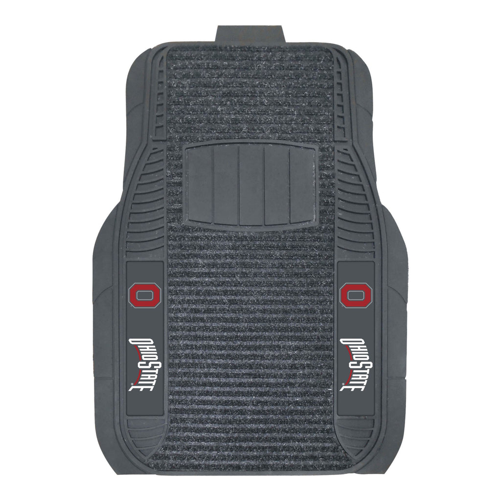 "Ohio State University 2-pc Deluxe Car Mat Set 21""x27"""