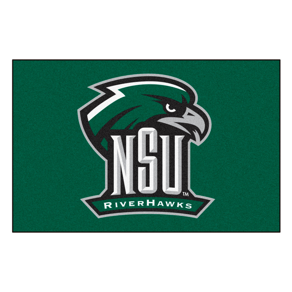 "Northeastern State University Starter Mat 19""x30"""