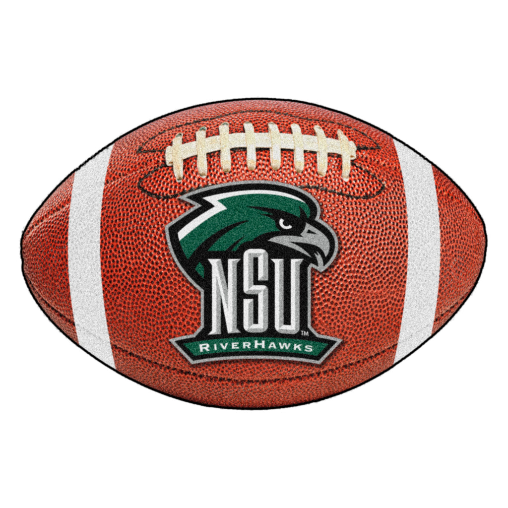 "Northeastern State University Football Mat 20.5""x32.5"""