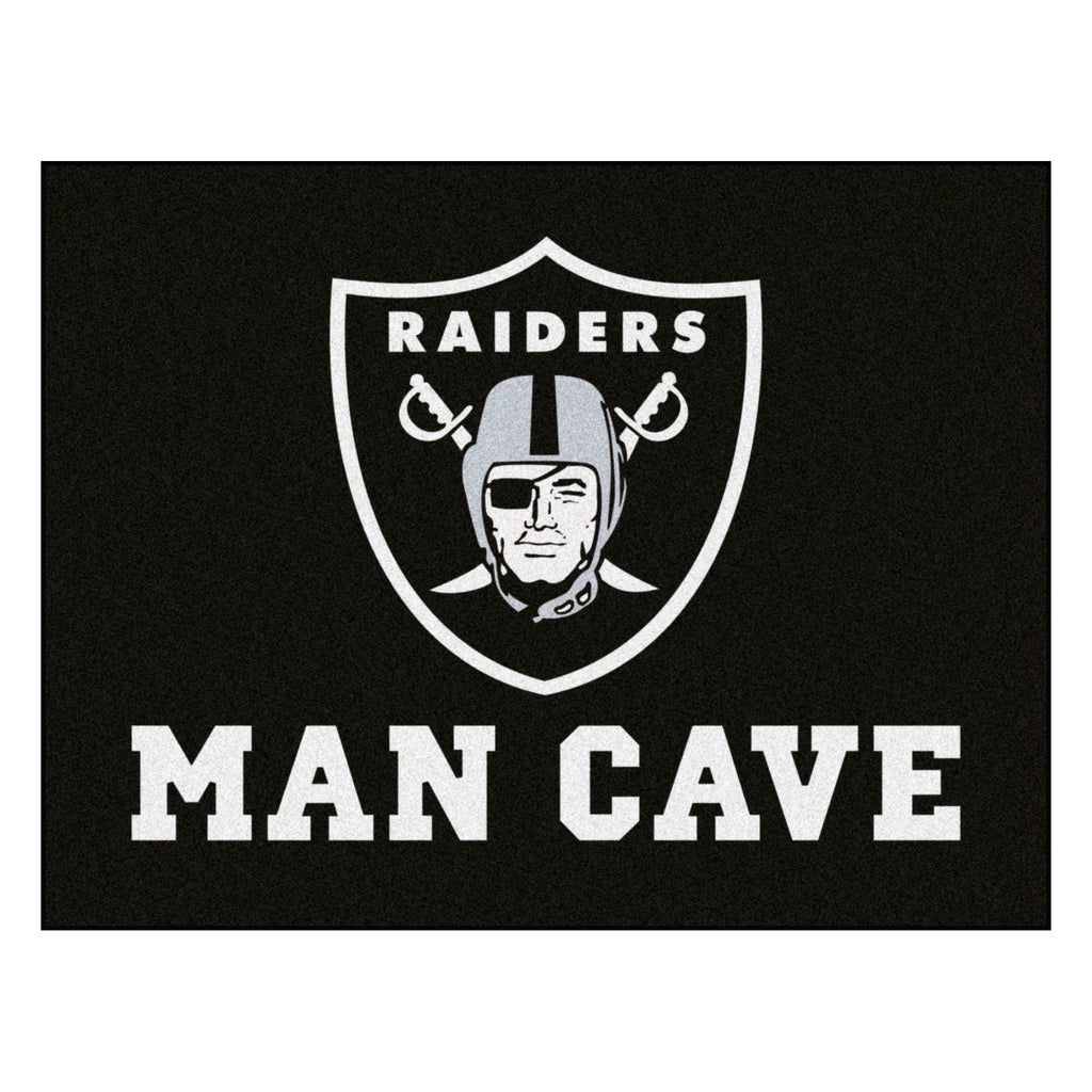 "NFL - Oakland Raiders Man Cave All-Star 33.75""x42.5"""