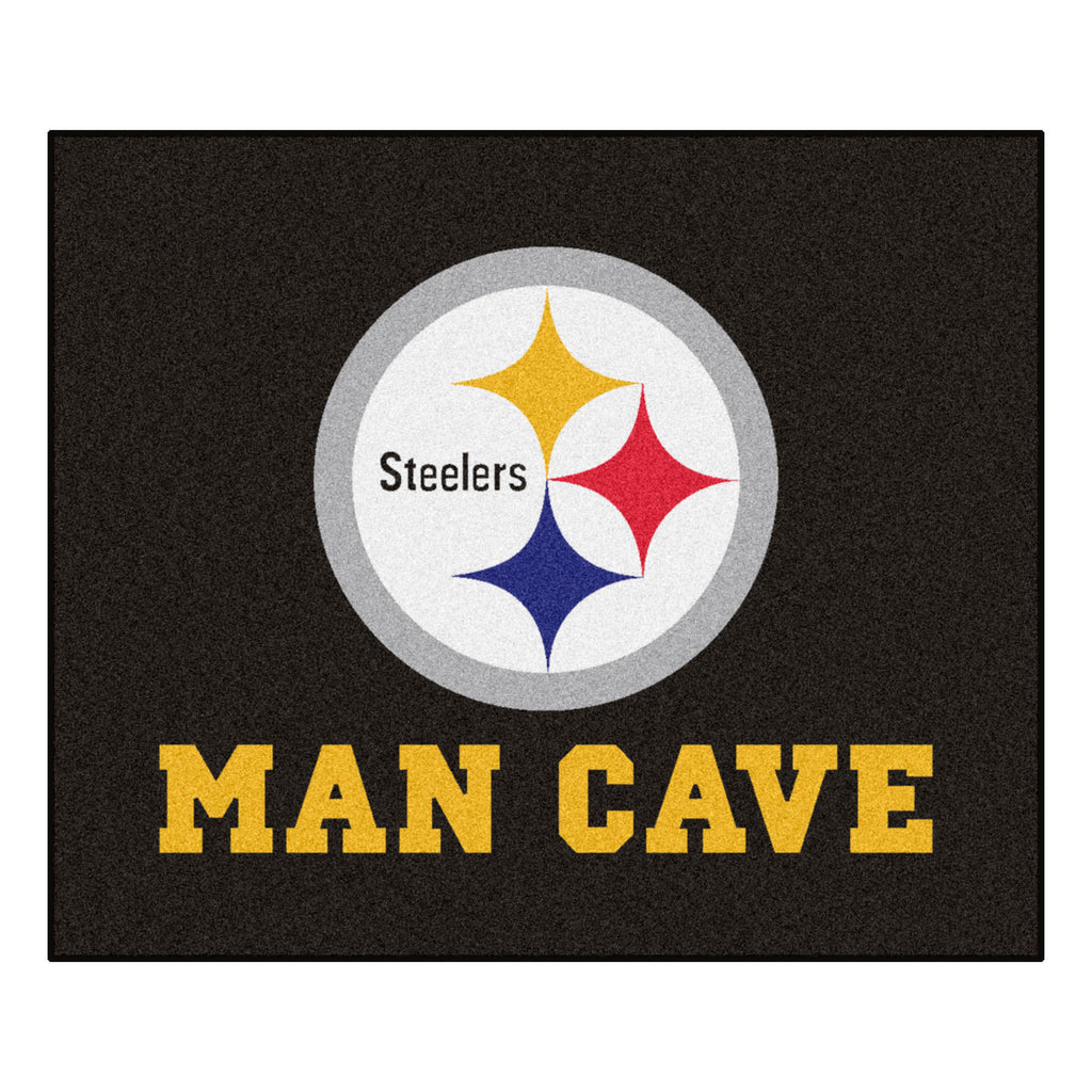 "NFL - Pittsburgh Steelers Man Cave Tailgater 59.5""x71"""