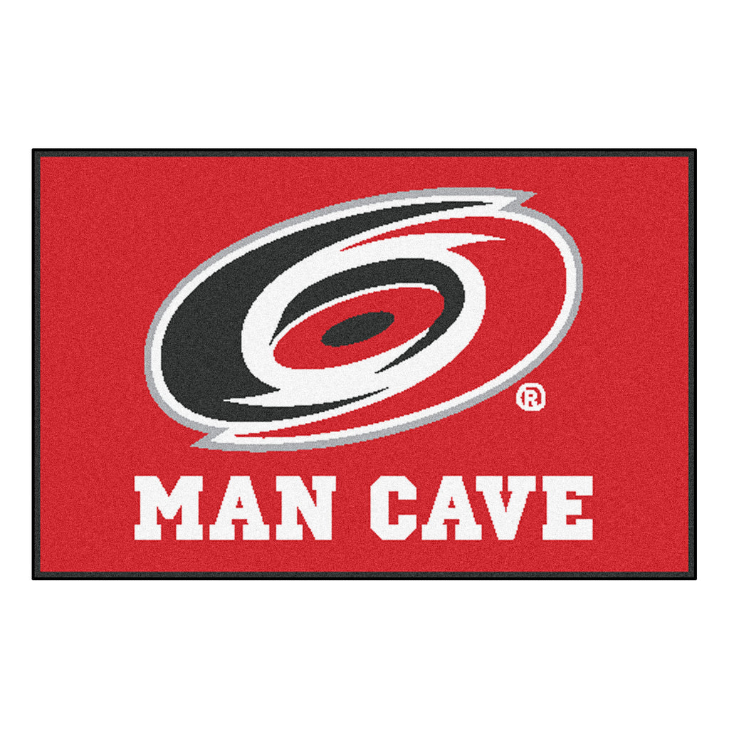 "NHL - Carolina Hurricanes Man Cave Starter 19""x30"""