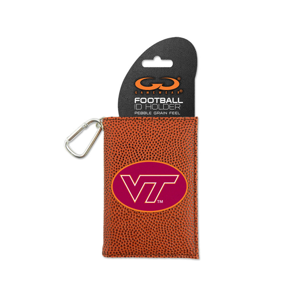 Virginia Tech Hokies Classic Football ID Holder