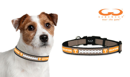 Tennessee Volunteers Reflective Small Football Collar