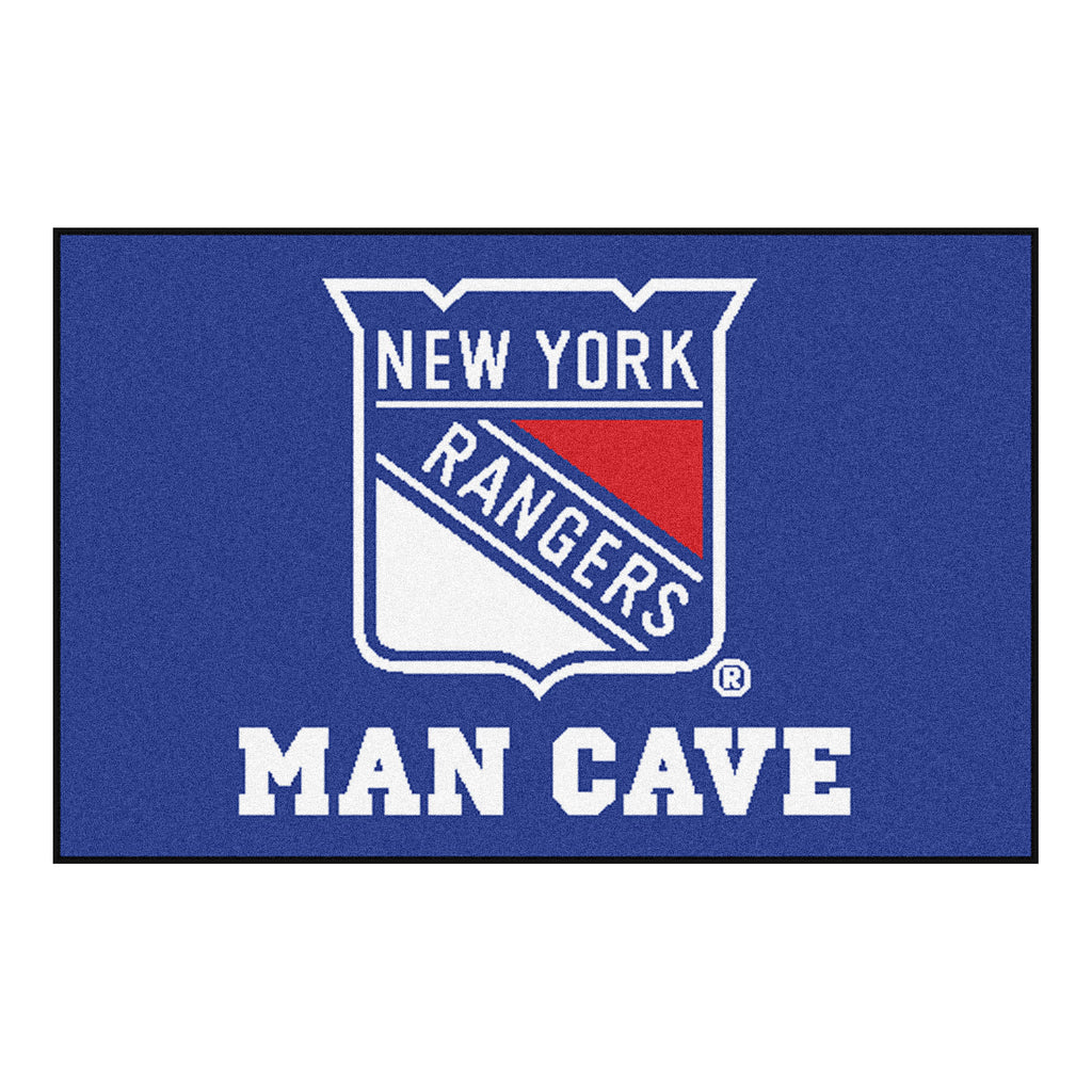 "NHL - New York Rangers Man Cave Starter 19""x30"""