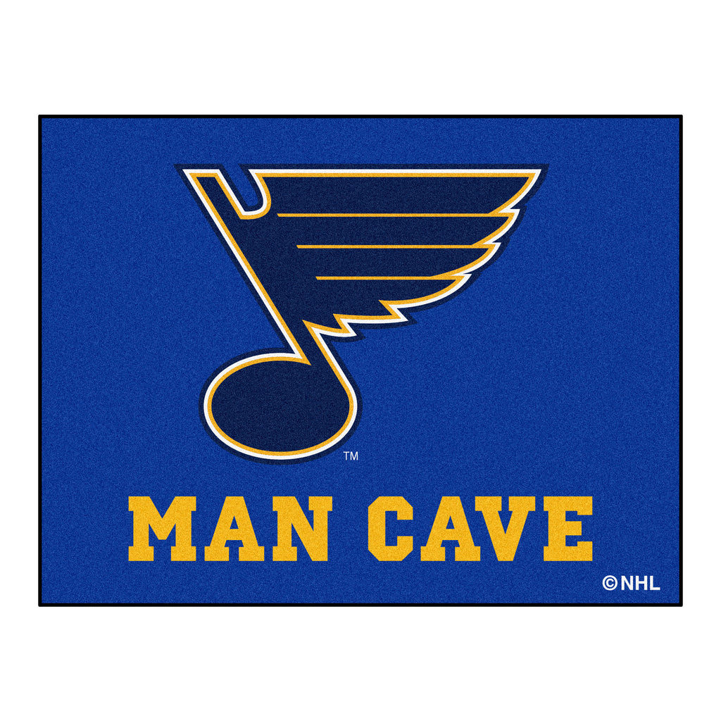 "NHL - St. Louis Blues Man Cave All-Star 33.75""x42.5"""
