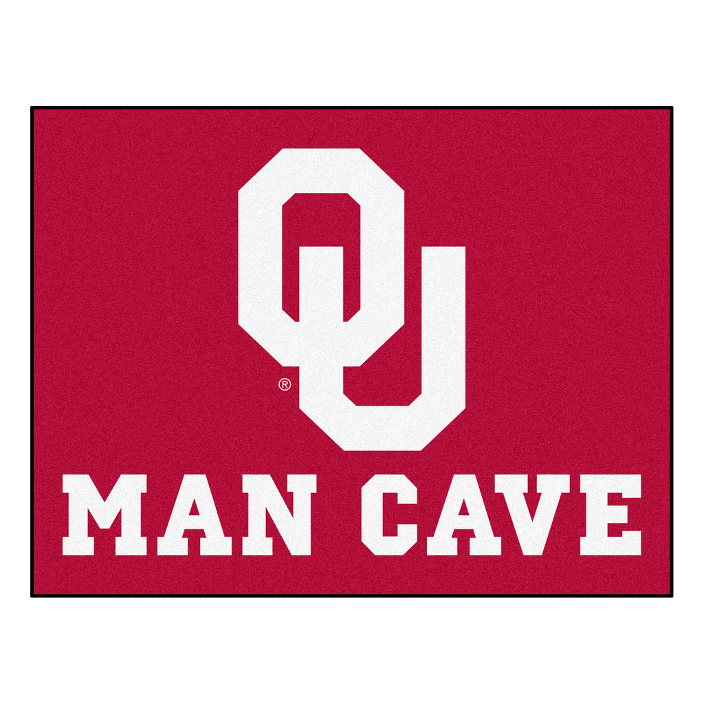 "University of Oklahoma Man Cave All-Star 33.75""x42.5"""