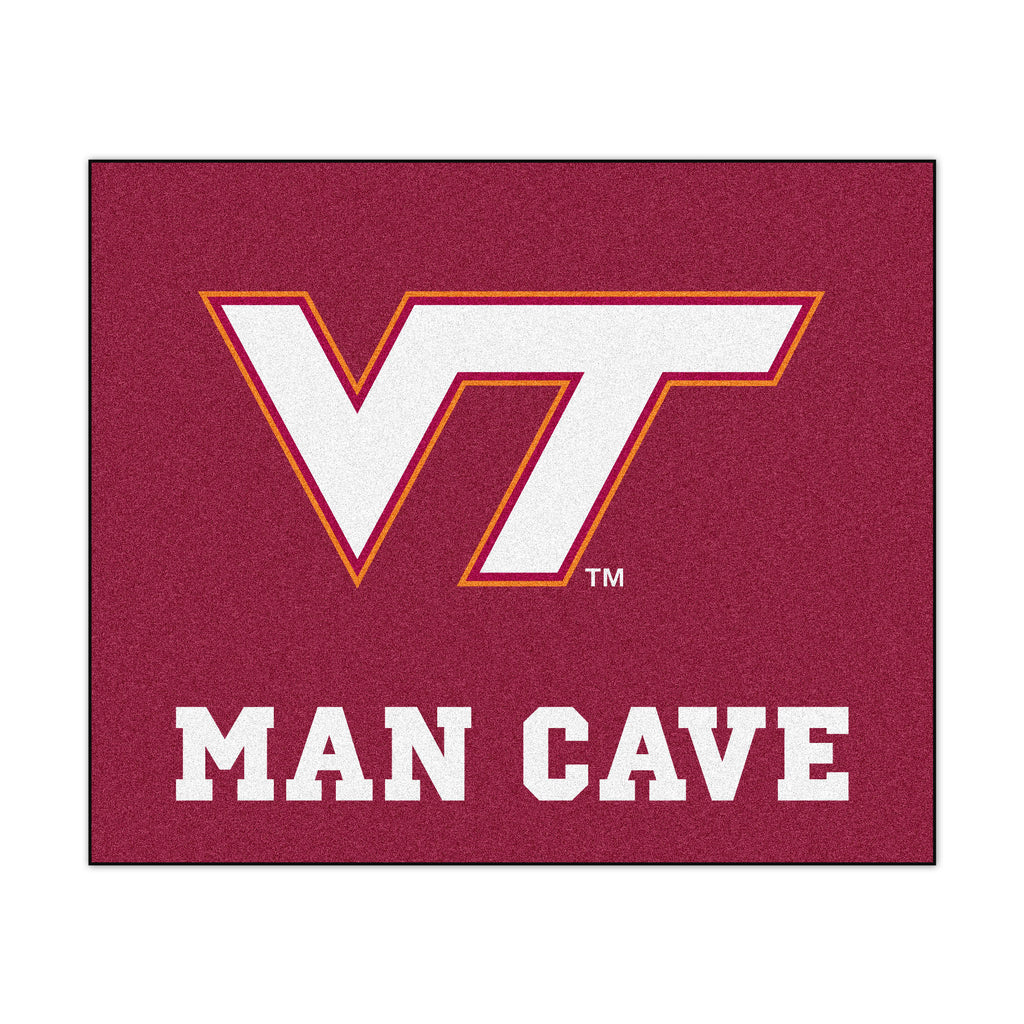 "Virginia Tech Man Cave Tailgater 59.5""x71"""