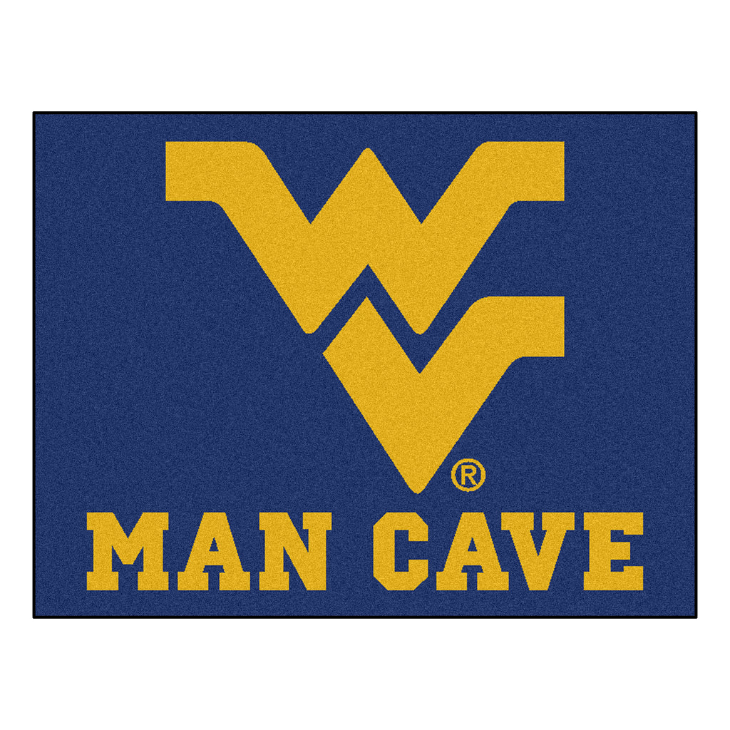 "West Virginia University Man Cave All-Star 33.75""x42.5"""