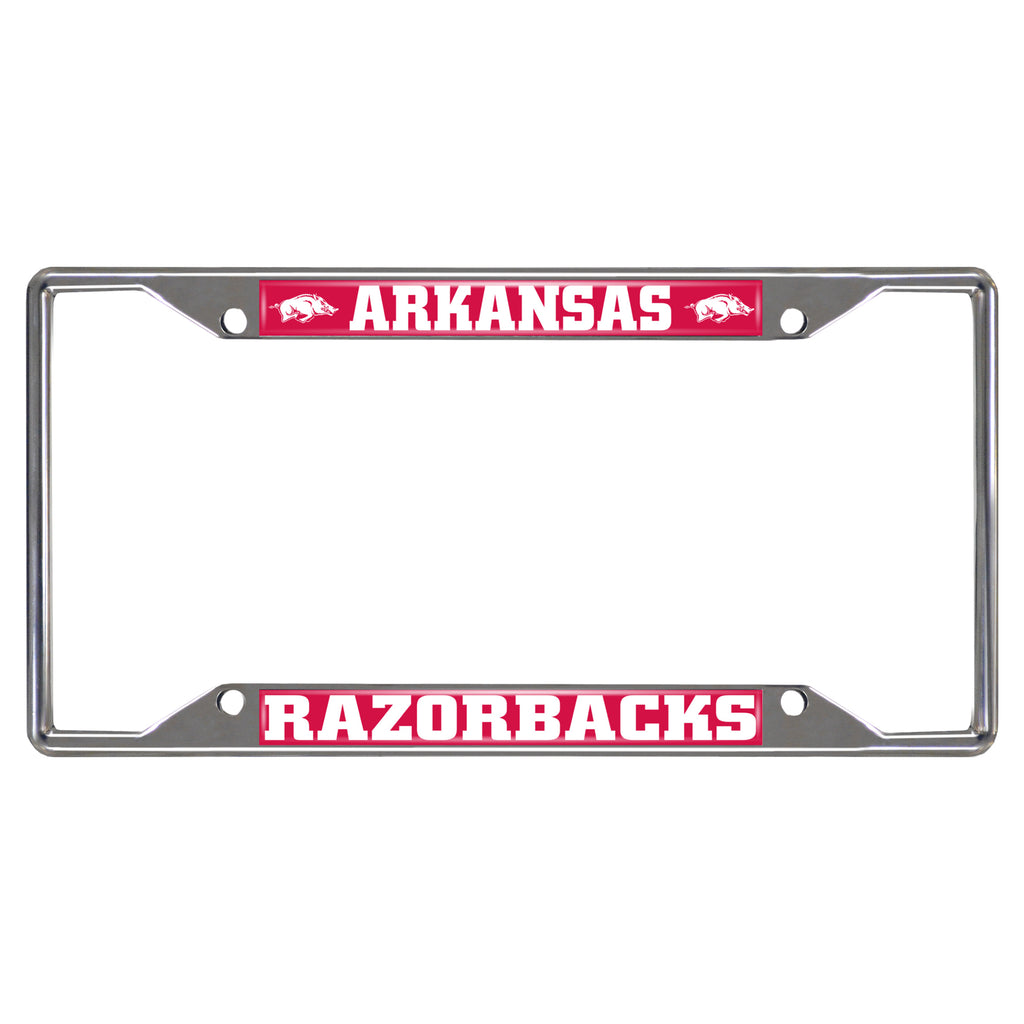 "University of Arkansas License Plate Frame 6.25""x12.25"""