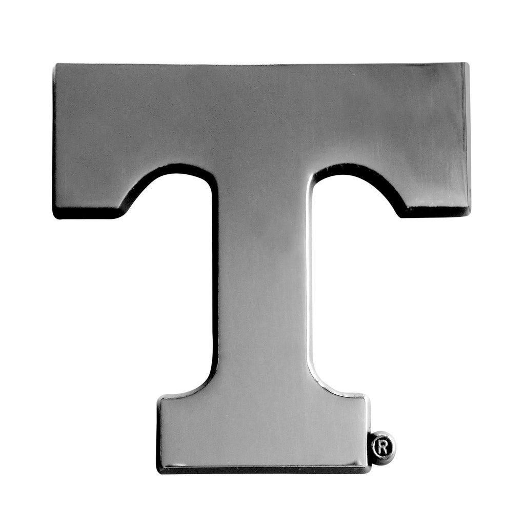 "University of Tennessee Chrome Emblem 2.8""x3.2"""